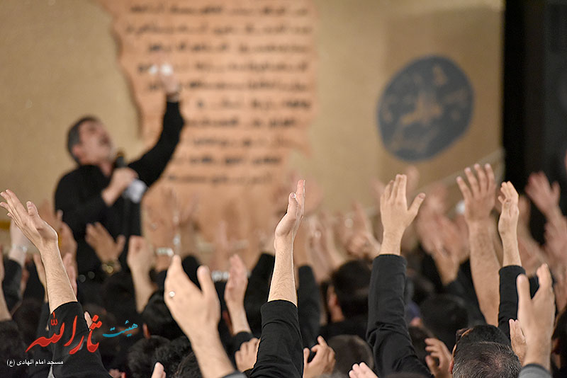 تصاویر مراسم عزاداری فاطمیه ۱۳۹۴ شب هفتم