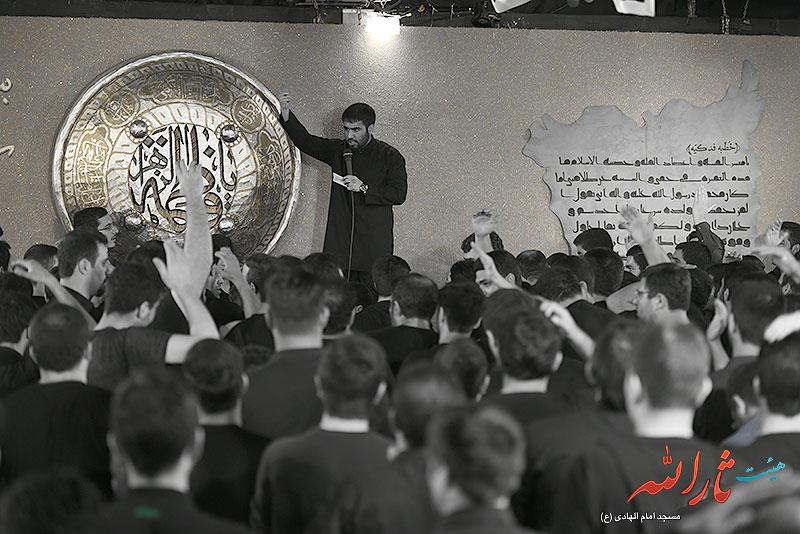 تصاویر مراسم عزاداری فاطمیه ۱۳۹۴ شب هشتم